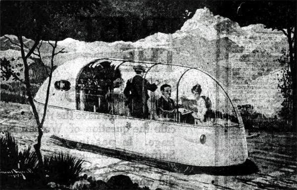 Một minh họa từ bài báo Khoa học Mỹ năm 1918