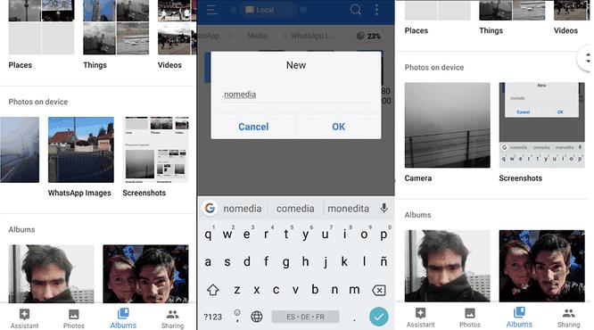 Thủ thuật ẩn thư mục và hình ảnh trên thiết bị Android ảnh 1