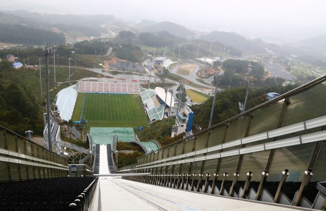 Chiêm ngưỡng quy mô thi đấu hoành tráng, xa xỉ cho Thế Vận Hội Mùa Đông của Hàn Quốc ảnh 3