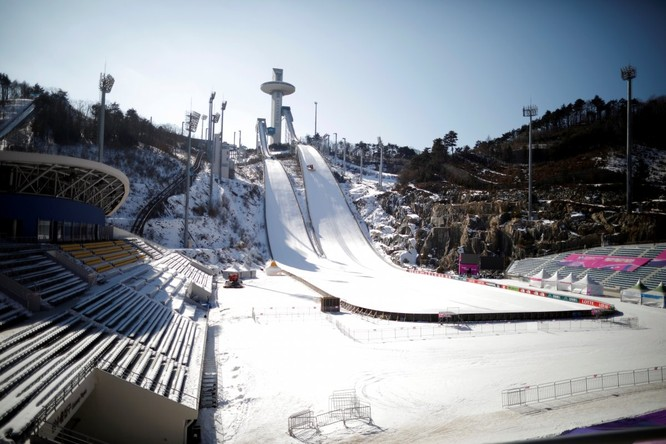 Chiêm ngưỡng quy mô thi đấu hoành tráng, xa xỉ cho Thế Vận Hội Mùa Đông của Hàn Quốc ảnh 2
