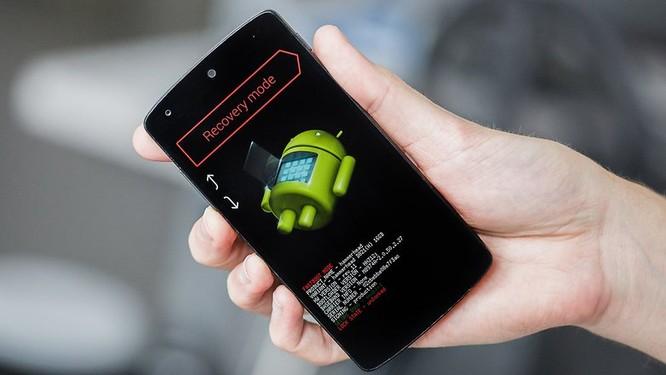 Hướng dẫn cách mở khóa smartphone Android khi quên mật khẩu ảnh 3