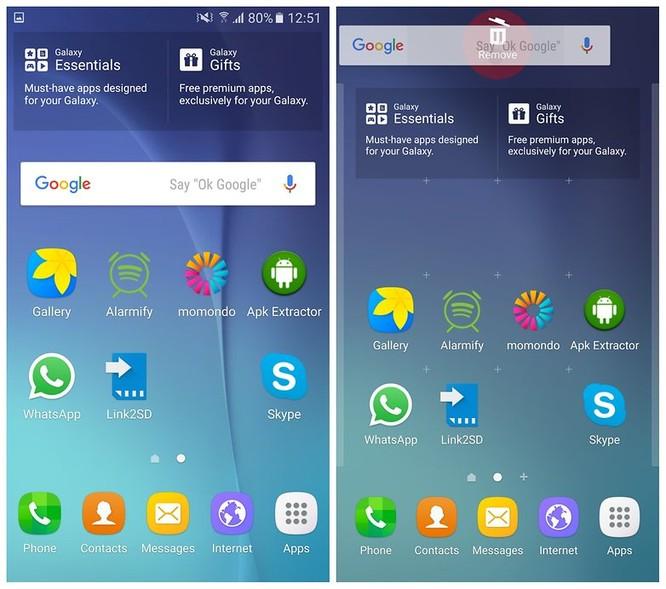 Cách xóa thanh Tìm kiếm Google khỏi màn hình chính của Android ảnh 2