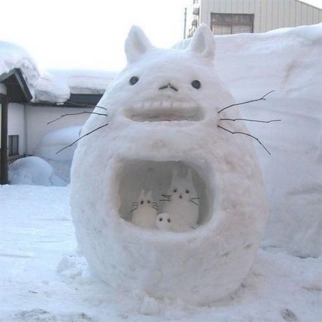 Khi bạn có người tuyết tuyệt vời nhất trong thị trấn