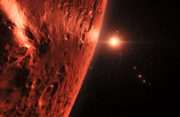 Tồn tại sự sống ngoài Trái Đất trong một số hành tinh thuộc hệ sao Trappist-1 ảnh 1