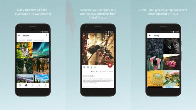 Top 10 ứng dụng hình nền tuyệt đẹp cho Android ảnh 1