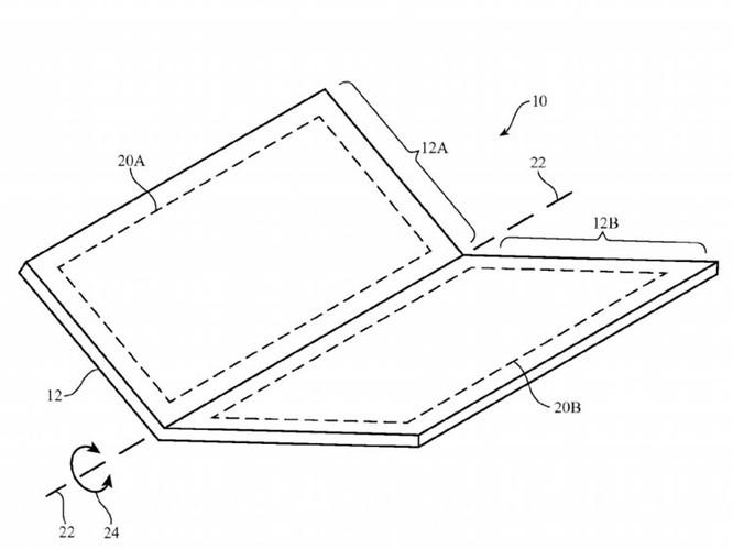 6 điểm bạn nên biết về iPhone có thể gập đôi của Apple ảnh 2