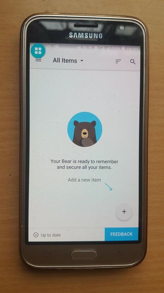 Hướng dẫn sử dụng RememberBear - ứng dụng ghi nhớ mật khẩu ảnh 2