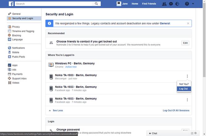 Làm thế nào để đăng xuất khỏi Facebook Messenger nhanh chóng? ảnh 4