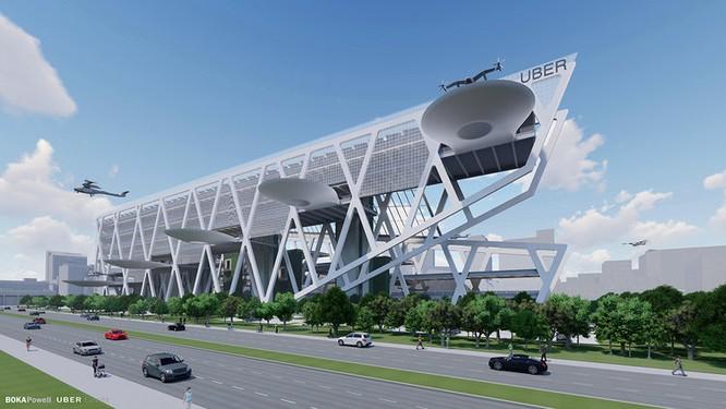 Chiêm ngưỡng những trạm cất cánh và hạ cánh khổng lồ Skyport dành cho taxi bay 2028 ảnh 1