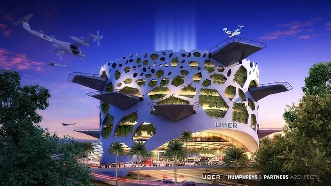 Chiêm ngưỡng những trạm cất cánh và hạ cánh khổng lồ Skyport dành cho taxi bay 2028 ảnh 2