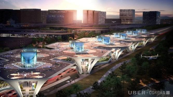 Chiêm ngưỡng những trạm cất cánh và hạ cánh khổng lồ Skyport dành cho taxi bay 2028 ảnh 4