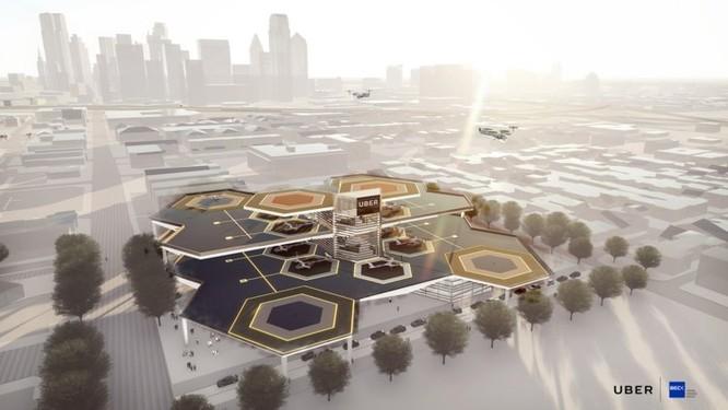 Chiêm ngưỡng những trạm cất cánh và hạ cánh khổng lồ Skyport dành cho taxi bay 2028 ảnh 5