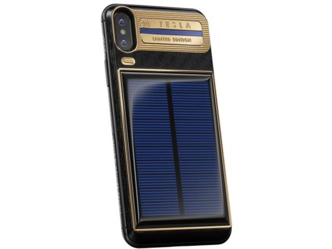 Chiêm ngưỡng chiếc iPhone X Tesla giá chát 4000 USD ảnh 4