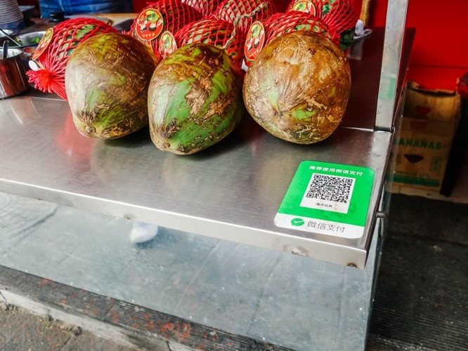 Trung Quốc đang trở thành một thị trường không tiền mặt ảnh 3