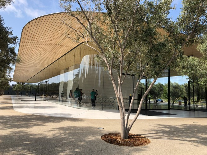 """11 mẹo để ghé thăm """"tàu vũ trụ"""" trị giá 5 tỷ USD của Apple - Apple Park ảnh 3"""