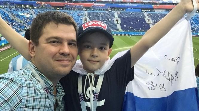 Những khoảnh khắc cảm động tại World Cup 2018 ảnh 6