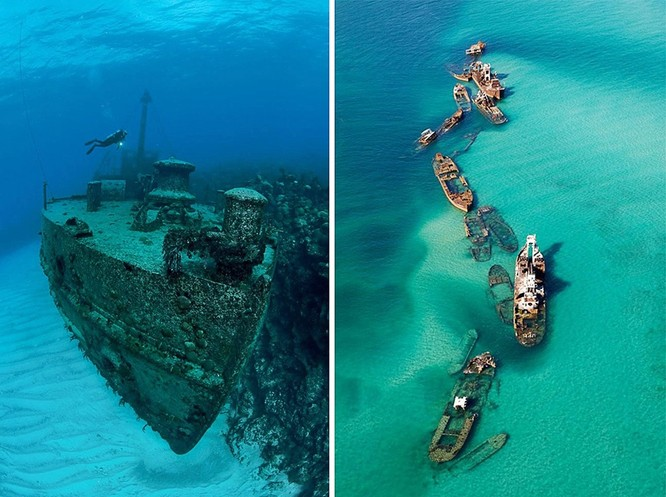 """""""Soi"""" lại lịch sử 12 con tàu chìm bí ẩn dưới đáy đại dương ảnh 11"""
