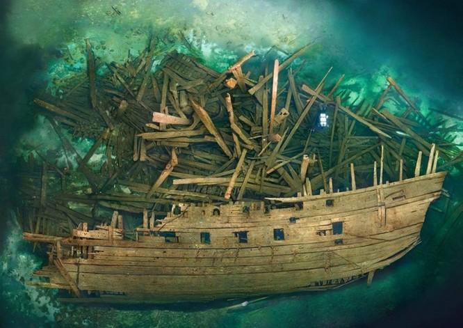 """""""Soi"""" lại lịch sử 12 con tàu chìm bí ẩn dưới đáy đại dương ảnh 2"""