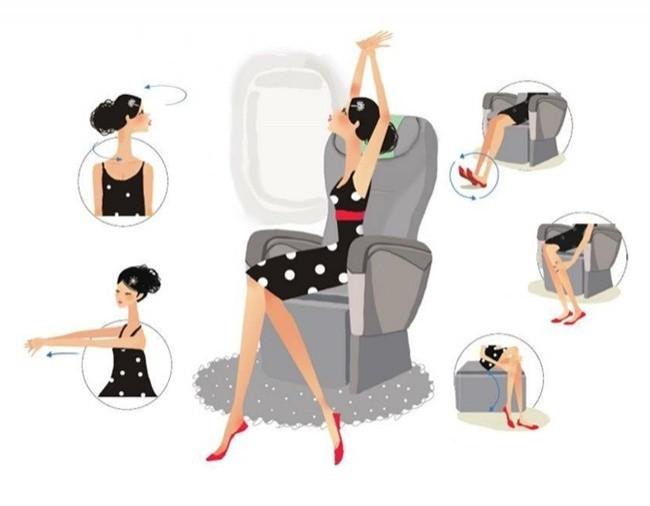 11 lời khuyên của chuyên gia về cách giữ gìn sức khỏe trên máy bay ảnh 10