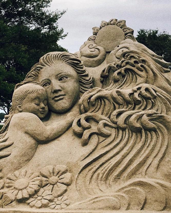 Chiêm ngưỡng 20 tác phẩm nghệ thuật công phu từ cát ảnh 5