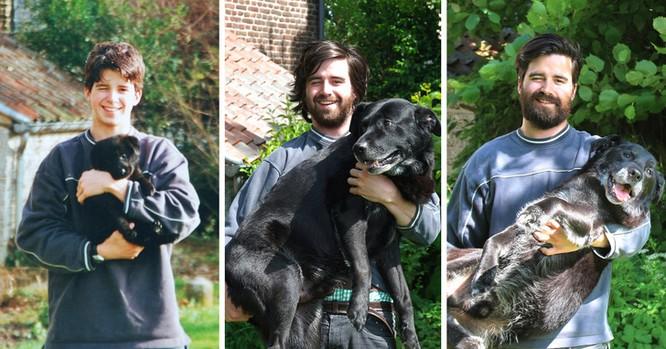 15 bức ảnh cảm động về quá trình trưởng thành của cún con ảnh 1