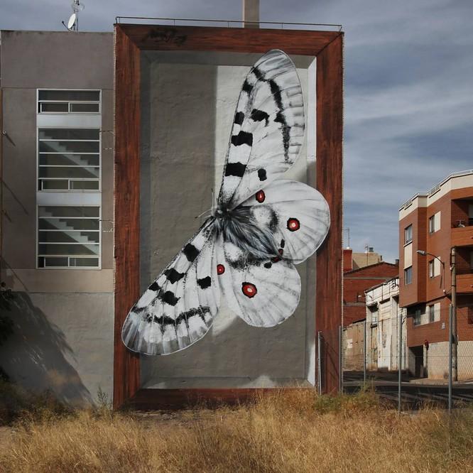 15 tác phẩm nghệ thuật đường phố khiến trái tim ai cũng phải lỡ nhịp ảnh 16