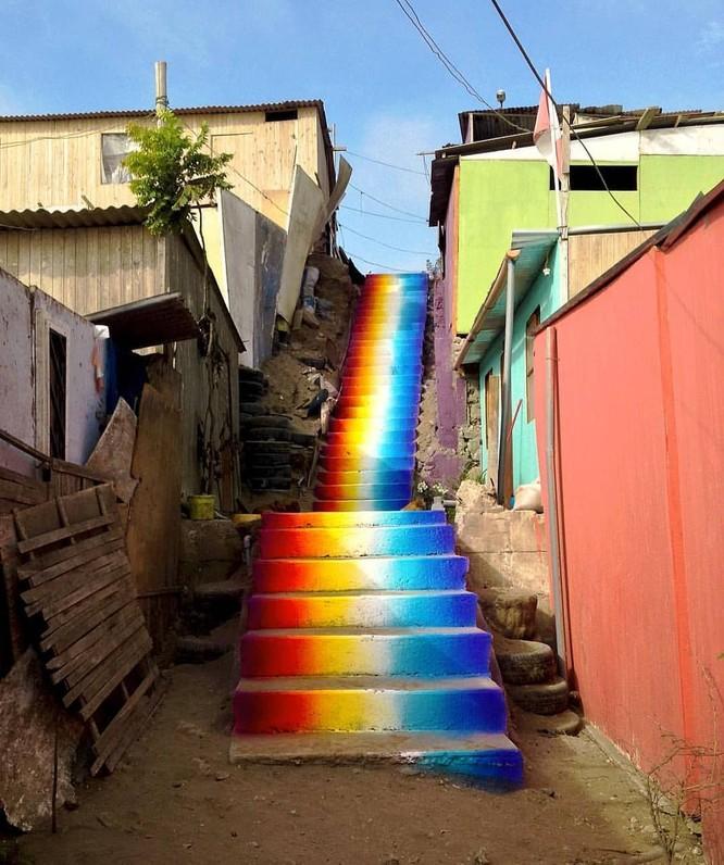 15 tác phẩm nghệ thuật đường phố khiến trái tim ai cũng phải lỡ nhịp ảnh 9
