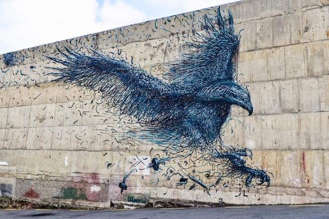 15 tác phẩm nghệ thuật đường phố khiến trái tim ai cũng phải lỡ nhịp ảnh 10