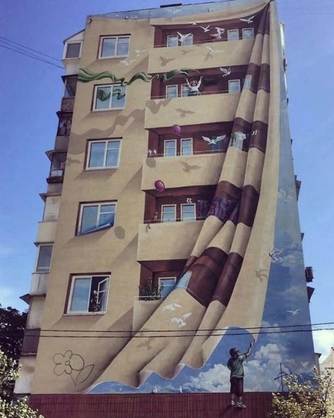 15 tác phẩm nghệ thuật đường phố khiến trái tim ai cũng phải lỡ nhịp ảnh 7