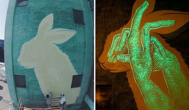 15 tác phẩm nghệ thuật đường phố khiến trái tim ai cũng phải lỡ nhịp ảnh 6