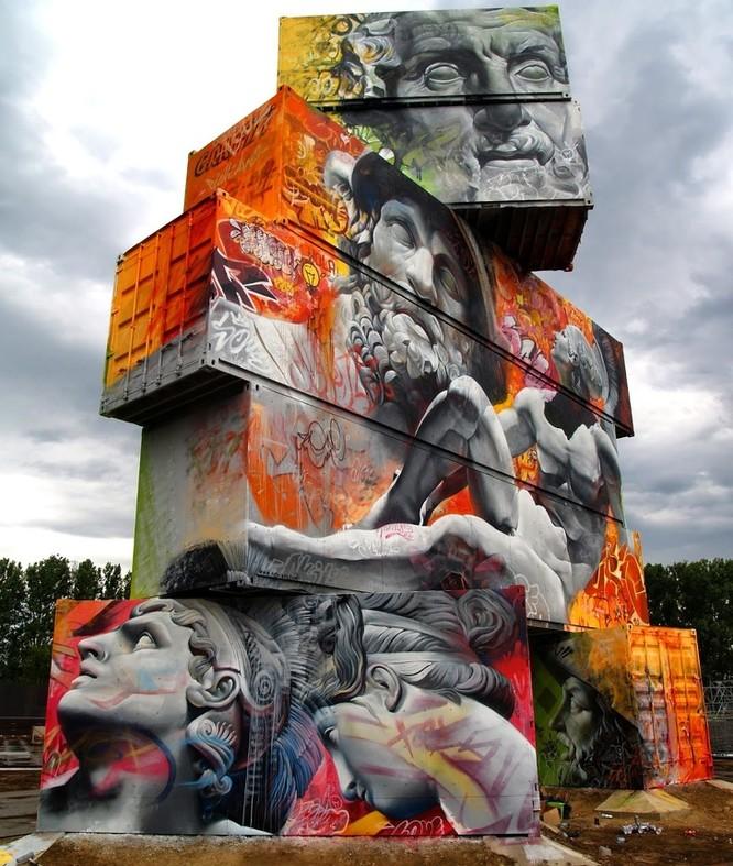 15 tác phẩm nghệ thuật đường phố khiến trái tim ai cũng phải lỡ nhịp ảnh 12
