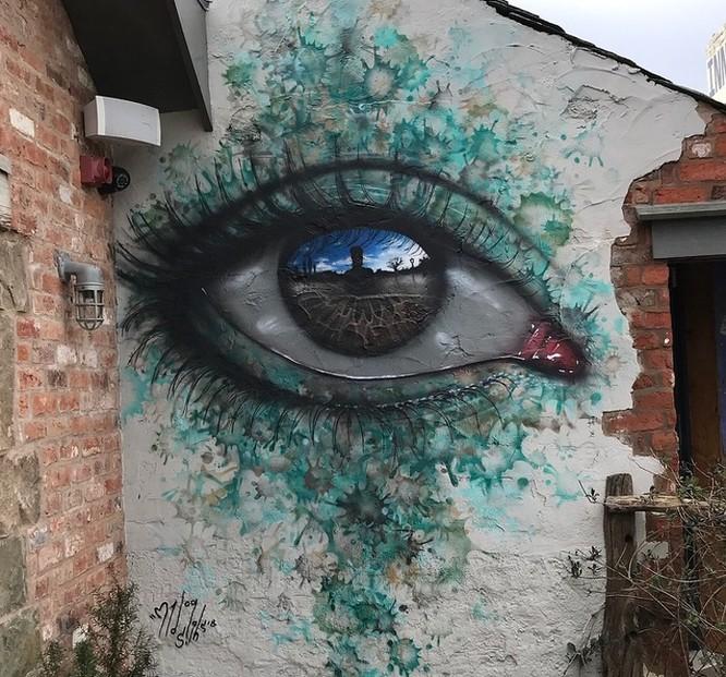 15 tác phẩm nghệ thuật đường phố khiến trái tim ai cũng phải lỡ nhịp ảnh 14