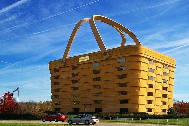 Những tòa nhà có thiết kế kỳ lạ nhất thế giới ảnh 1