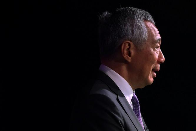 Thủ tướng Singapore Lý Hiển Long phát biểu tại Hội nghị thượng đỉnh kinh doanh và đầu tư ASEAN tại Singapore, ngày 12/11/2018. Ảnh: Reuters