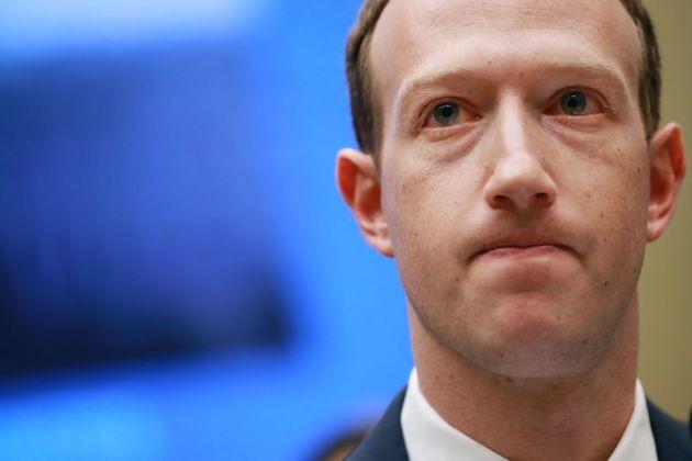 Mark Zuckerberg - CEO Facebook. Ảnh: CNBC