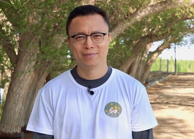 Eric Jing Xiandong, chủ tịch điều hành và giám đốc điều hành của Ant Financial Services, cho biết sáng kiến Ant Forest của công ty có thể giúp khám phá và thực hiện các cách khai thác công nghệ cho một tương lai bền vững.