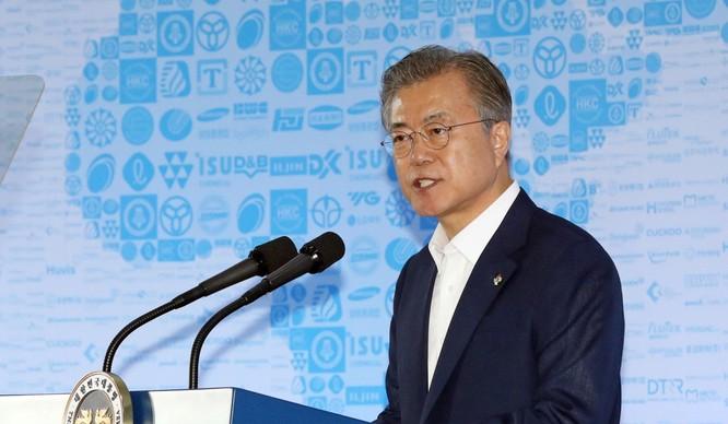 Tổng thống Hàn Quốc Moon Hae-in. Ảnh: SCMP