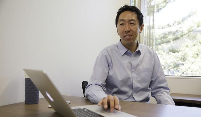 Andrew Y. Ng hiện là là trưởng khoa học gia tại Baidu Research (Trung Quốc) có trụ sở tại Thung lũng Silicon. Ảnh: SCMP