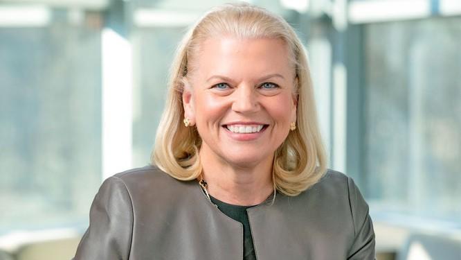 Ginni Rometty, CEO IBM. Ảnh: YouTube