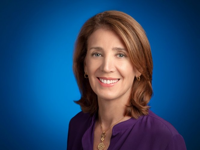 Ruth porat, CFO Alphabet. Ảnh: Business Insider