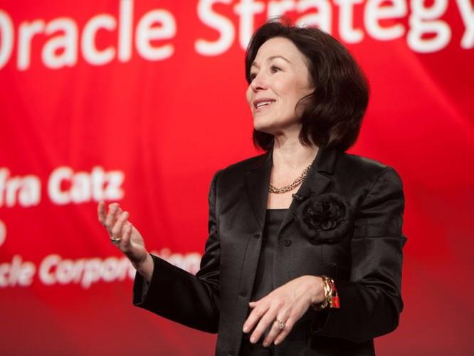 Safra Catz, CEO Oracle. Ảnh: CNBC