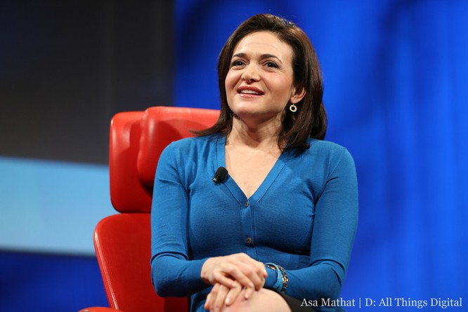 Sheryl Sandberg, COO Facebook. Ảnh: Business Insider