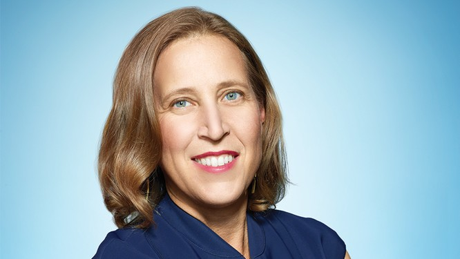 Susan Wojcicki, CEO YouTube. Ảnh: Variety