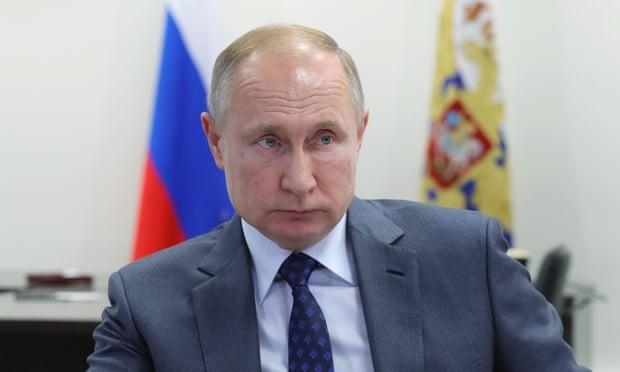 Ông Putin. Ảnh: The Guardian