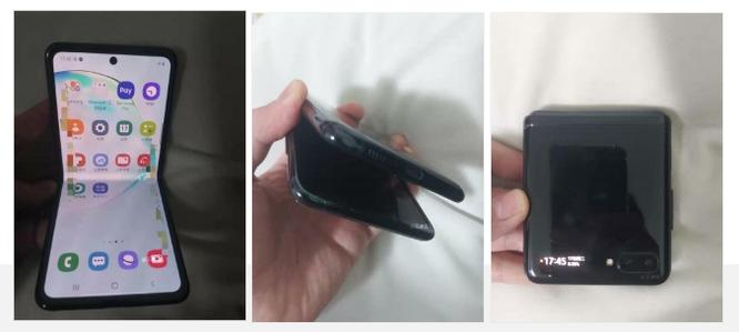 Hình ảnh thực tế của Galaxy Fold 2. Ảnh: GSMArena