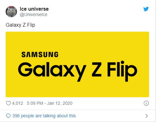 Bất ngờ với tên mới Samsung dành cho chiếc điện thoại gập thế hệ thứ hai ảnh 1