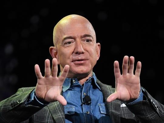 """Tỷ phú Jeff Bezos mạnh tay chi quỹ """"khủng"""" chống biến đổi khí hậu ảnh 1"""