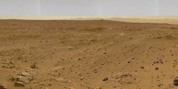 Bí ẩn về sự sống cổ đại trên sao Hỏa - phát hiện vật thể lạ giống hộp sọ khủng long ảnh 1