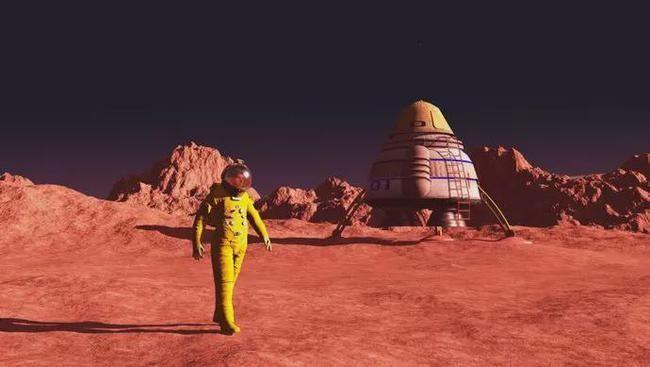 Tại sao phi hành gia hạ cánh trên sao Hỏa không thể trở về Trái Đất? ảnh 3