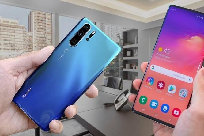 """Huawei đang trong trận chiến """"một chọi ba"""" với Apple, Samsung và Google ảnh 2"""